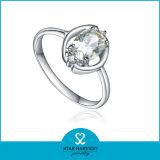 주식 (R-0382)에 있는 새로운 디자인 반지 도금 은 반지 보석