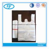 Wegwerf-HDPE Shirt-PlastikEinkaufstasche