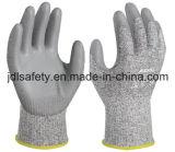 Anti-Couper le gant de travail avec l'enduit d'unité centrale (PD8045)