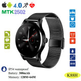 Unisex Bluetooth Smart Watch con monitor de ritmo cardíaco (K88H)
