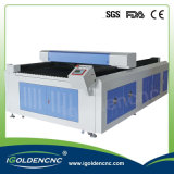 Гравировка и автомат для резки лазера используемые для кожи Acrylic вырезывания
