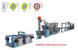 Gebäude-Kabel-Sicherheits-Kabel-Strangpresßling-Zeile Kabel-Maschine