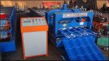 Dx 828 Dach glasierte die Dach-Fliese-Stahlblech-Rolle, die maschinelle Herstellung-Prozesszeile bildet