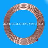 tubo de cobre flexible inconsútil largo de los 25m para el gas médico