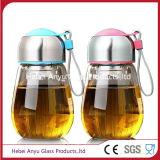 200ml de Fles van het Glas van het sodawater met Schroefdop