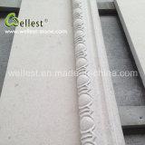Wand-Umhüllung-natürlicher beige abgezogener Oberflächensahnekalkstein
