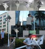 Lampada di via solare di alta efficienza con la batteria dello Litio-Ione di capacità elevata