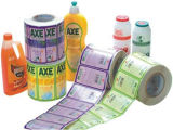 Escritura de la etiqueta auta-adhesivo del PVC de la etiqueta engomada adhesiva de papel de Pirnted (Z16)