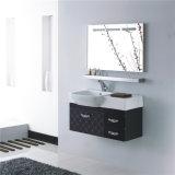 Шкаф ванной комнаты нержавеющей стали просто конструкции водоустойчивый