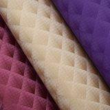 格子は総合的なPUの革、のどによってを浮彫りにされた袋の革織った