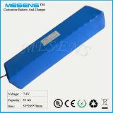 Hohe Leistung 7.4V 53ah nachladbare Li-Ionbatterie für Energie-Speicher