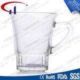 120ml ontruim de Kop van de Koffie van het Glas met Hand (CHM8335)