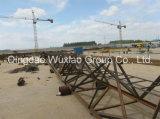 Линия башня Guyed решетки стальная башни телекоммуникаций
