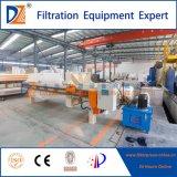 Prensa automática de filtro de cámara PP en tratamiento de aguas residuales