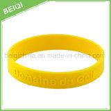 Braccialetto/Wristbands su ordinazione del silicone dei regali di promozione della fabbrica dell'OEM