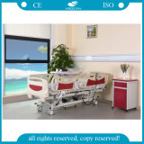 AG-By003c Usado para Cuidados Intensivos Cuadro Hospitalario Eléctrico de Cinco Funciones Ajustable para Pacientes Paralisados
