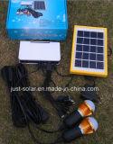 Солнечные наборы освещения СИД с шариками 2PCS 1W СИД с заряжателем USB