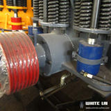 Коническая дробилка утеса каменная с мотором Simens (WLC1160)