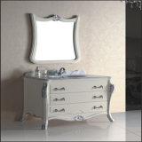 Vitamina de banheiro com piso de alta qualidade com espelho