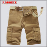 Ladung-Kurzschlüsse für Mann-Sommer-Baumwollfreizeit-Hosen