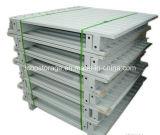 Depósito de almacenamiento personalizado para trabajos ligeros del metal del acero Pallet