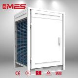 Agua caliente aire-agua 18kw del calentador de agua de la pompa de calor 80oc