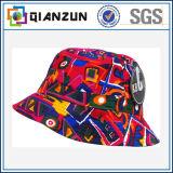 Напечатанные таможней цветастые смешные дешевые шлем и крышка ведра спорта
