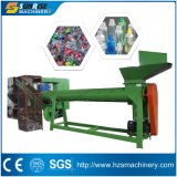 Пластичное Machinery Plant Pet Bottle Label Remover с Saw Cutter