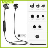 Guter mini drahtloser Bluetooth Kopfhörer der QualitätsQy19 im Schwarzen