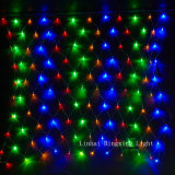 diodo emissor de luz Net Light do diodo emissor de luz Bulbs Christmas de 1.5*1.5m 96 PCS para Party Decoration