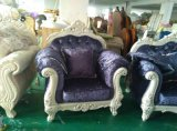 新しく標準的なソファー、ファブリックソファー、高貴なソファー(814A)