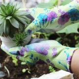 Перчатки работы руки сада покрытия PU