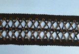 Franja do laço do couro 5cm da alta qualidade para acessórios do vestuário