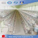 La vente 2017 chaude a galvanisé un type cage automatique de poulet de volaille de couche pour la ferme avicole