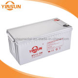 свинцовокислотная батарея 12V200ah для домашней системы PV солнечнаяа энергия