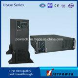 Lijn Met lage frekwentie Interactief UPS van de Enige Fase van de Golf van de Sinus van de Reeks 6KVA UPS van het paard de Ware