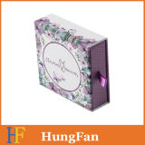 Paper Gift Packaging Display Boîte à tiroirs à bijoux cosmétiques