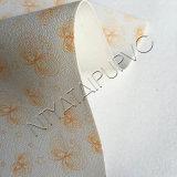 Cuoio di pattino sintetico variopinto del PVC per rendere a signore i pattini di modo