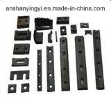 Accessoires ou garnitures en acier ferroviaires de longeron de Sara