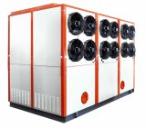 охлаждая подгонянный емкостью интегрированный промышленный испарительный охлаженный охладитель воды 120kw для машины инжекционного метода литья