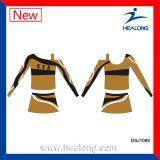 Produtos cheios do Cheerleading do Sublimation da tintura da Uv-Proteção de Healong