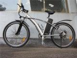 Vélo électrique de grand d'alimentation électrique du nouveau modèle 2015 gros de pneu croiseur de plage