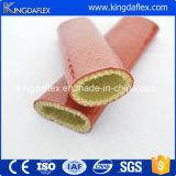 De Glasvezel van Kingdaflex die met de Koker van de Brand van het Silicone met een laag wordt bedekt