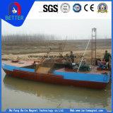 Barco de bombeamento de sucção de areia para a mina de areia do rio