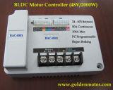 BLDC 1500W Kit de conversión de motocicleta eléctrica / Scooter eléctrico MID Motor de accionamiento y controlador