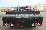 13 tester di 2-Axle di base basso/di Lowboy rimorchio semi, rimorchio del camion