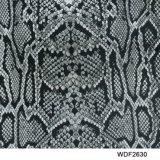 Kingtop 1m Film Wdf2610 van het Af:drukken van Aqua van het Ontwerp van de Huid van de Breedte Dierlijke
