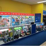 Dispositivi di alluminio della vetrina del banco di mostra di vendita al dettaglio di mostra (GC-DC)
