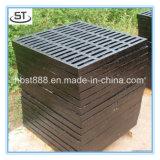 Буерак фабрики En124 B125 Китая квадратный скрежеща с рамкой