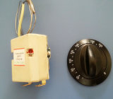 Chauffe-eau bimétallique capillaire réglable de thermostat